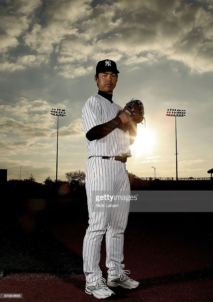 Kei Igawa of the New York Yankees poses for a photo during Spring Training Media Photo Day at George M. Steinbrenner Field on February 25, 2010 in Tampa, Florida.