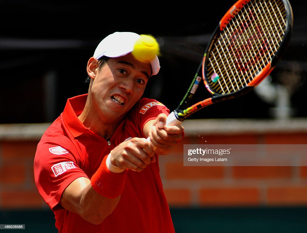 Columbia v Japan - Davis Cup World Group Play-Off - Day 3