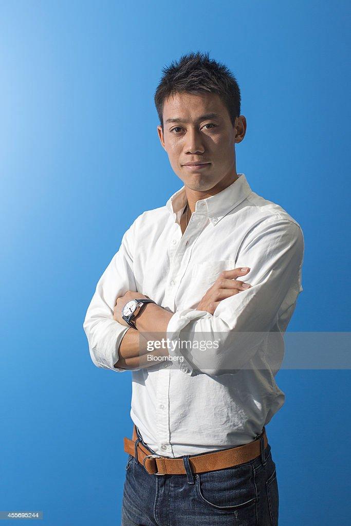 ¿Cuánto mide Kei Nishikori? - Altura - Real height Kei-nishikori-professional-tennis-player-poses-for-a-photograph-after-picture-id455695244