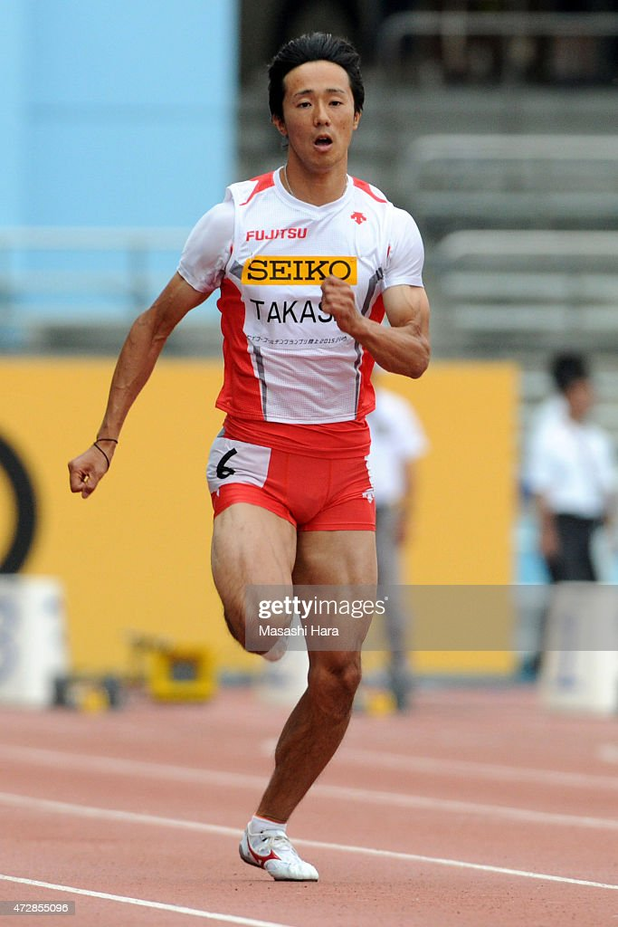 <a gi-track='captionPersonalityLinkClicked' href=/galleries/search?phrase=Kei+Takase&family=editorial&specificpeople=7933891 ng-click='$event.stopPropagation()'>Kei Takase</a> competes in the 100m during the Seiko Golden Grand Prix Tokyo 2015 at Todoroki Stadium on May 10, 2015 in Kawasaki, Japan.