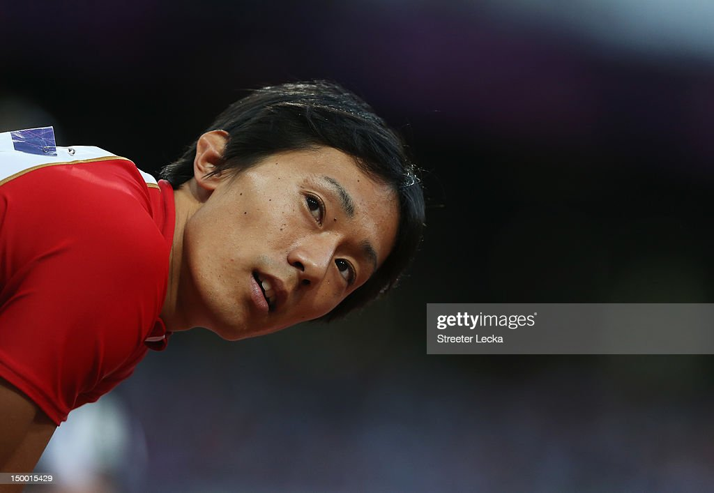 <a gi-track='captionPersonalityLinkClicked' href=/galleries/search?phrase=Kei+Takase&family=editorial&specificpeople=7933891 ng-click='$event.stopPropagation()'>Kei Takase</a> of Japan competes in the Men's 200m Semifinals on Day 12 of the London 2012 Olympic Games at Olympic Stadium on August 8, 2012 in London, England.
