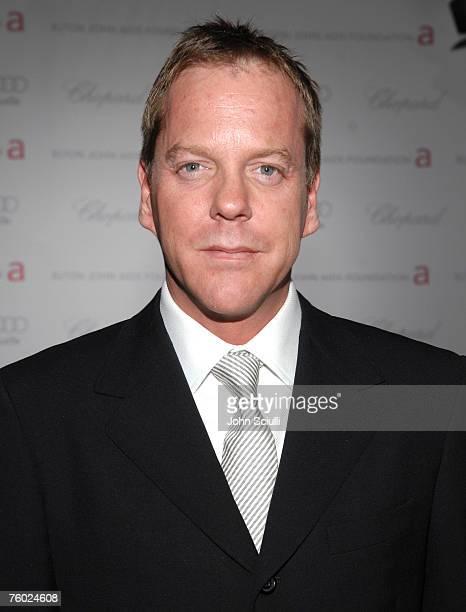 Keifer Sutherland at Elton John AIDS Foundation Oscar Party Sponsored by Audi