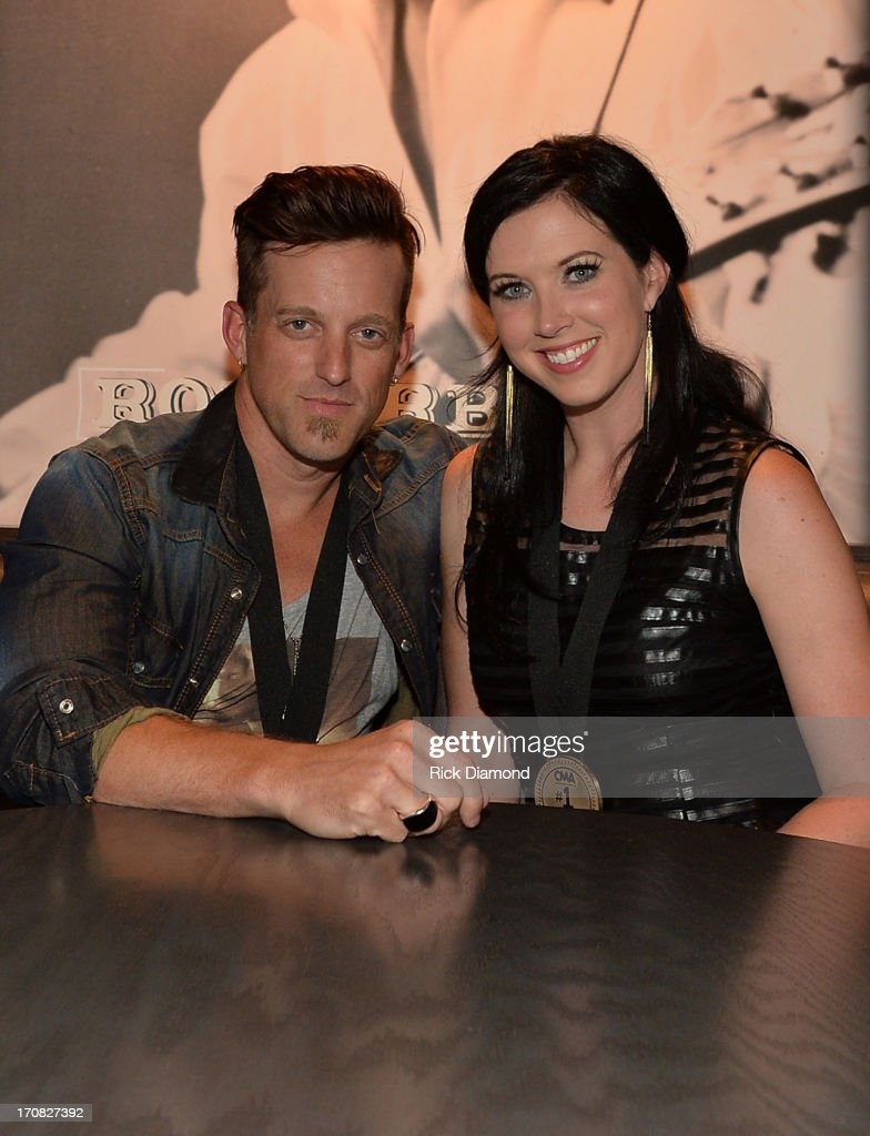 Keifer Thompson and Shawna Thompson at the Thompson Square Party For 'If I Didn't Have You' at The Row on June 18 2013 in Nashville Tennessee
