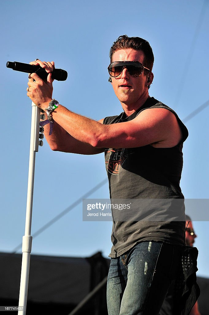 Keifer Thompson of Thompson Square performs at the 2013 Stagecoach Country Music Festival at The Empire Polo Club on April 28, 2013 in Indio, California.