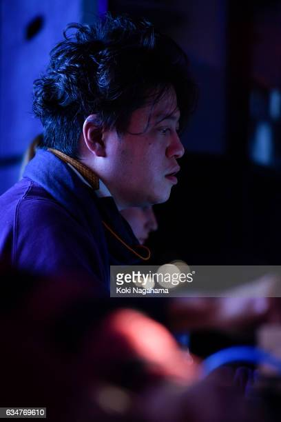 Keiichiro Shibuya perferms during Special Session at Roppongi Hills MAT LAB Mori Tower 52F TOKYO CITY VIEW on February 11 2017 in Tokyo Japan...