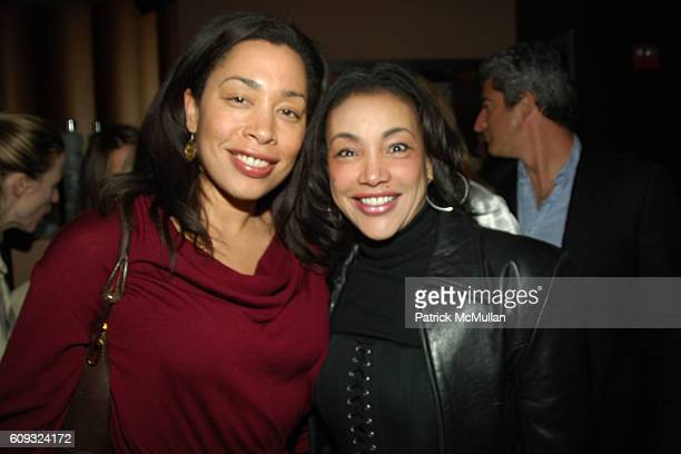Keija Minor and Jaci Reid attend GODIVA Presents 9th Annual 50 Fabulous Females to Benefit LOVE HEALS at Tenjune on March 20 2007 in New York City