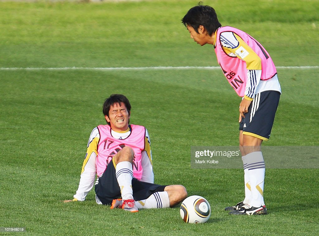 Japan v Zimbabwe International Match-2010 FIFA World Cup