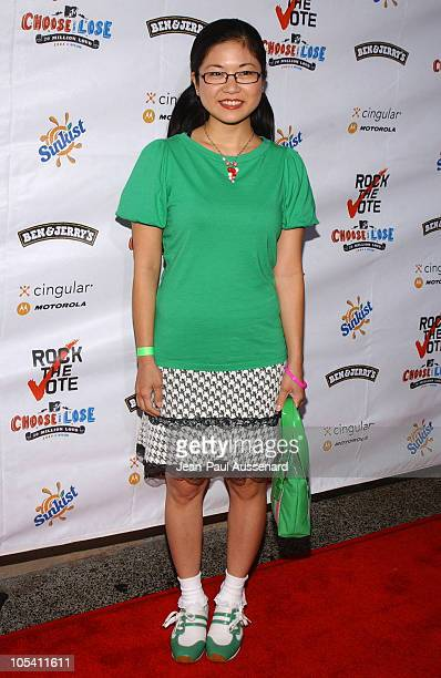 Keiko Agena during 'Rock The Vote' 2004 National Bus Tour Concert Arrivals at Avalon in Hollywood California United States