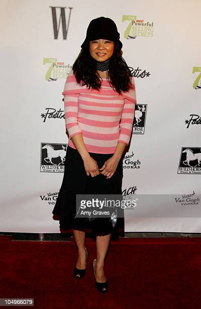 Keiko Agena during W Magazine Publisher Alyce Alston Hosts Book Launch Party for John Livesay at Private Residence in Bel Air California United States