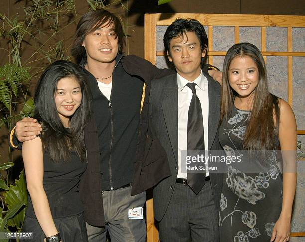 Keiko Agena Roger Fan John Cho and Karin Anna Cheung