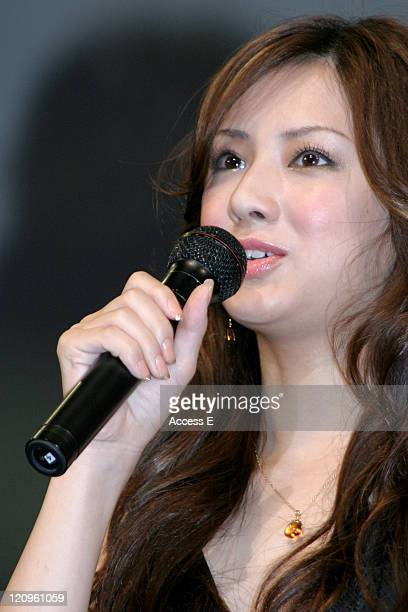 Keiko Kitagawa during 'The Fast and the Furious Tokyo Drift' Tokyo Premiere Stage Greeting at Tokyo International Forum in Tokyo Japan