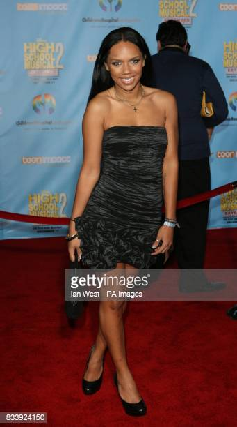 Keily Williams of The Cheetah Girls arrives at the DVD premiere of High School Musical 2Extended Edition at the El Capitan Theatre in Los Angeles