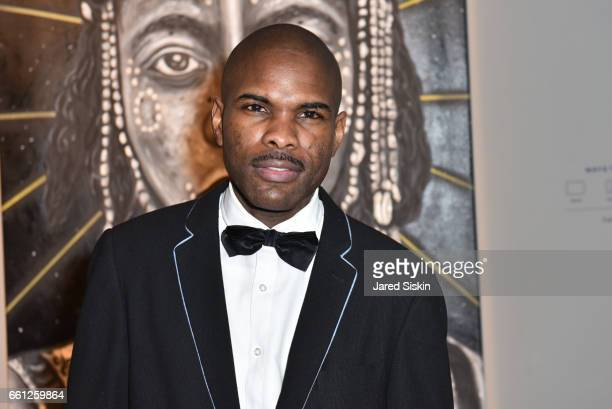 Keino Benjamin attends the First Annual Medair Gala at Stephan Weiss Studio on March 30 2017 in New York City