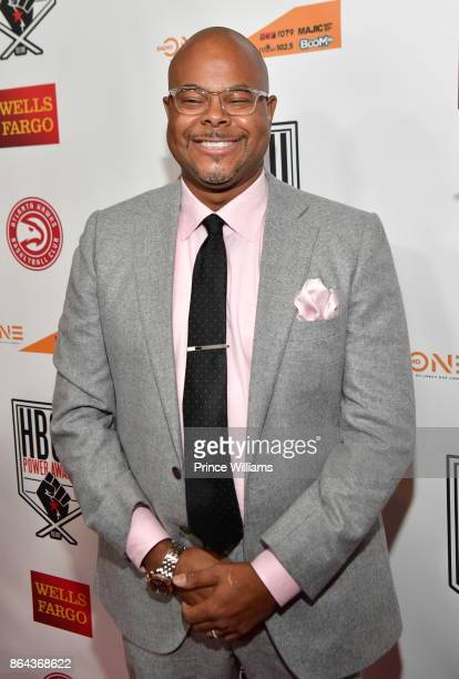 Keinon Johnson attends The HBCU Power Awards at Morehouse College on October 20 2017 in Atlanta Georgia