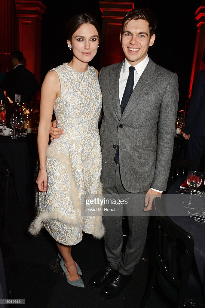 <a gi-track='captionPersonalityLinkClicked' href=/galleries/search?phrase=Keira+Knightley&family=editorial&specificpeople=202053 ng-click='$event.stopPropagation()'>Keira Knightley</a> (L) and <a gi-track='captionPersonalityLinkClicked' href=/galleries/search?phrase=James+Righton&family=editorial&specificpeople=4174131 ng-click='$event.stopPropagation()'>James Righton</a> attend an after party celebrating The Moet British Independent Film Awards 2014 at Old Billingsgate Market on December 7, 2014 in London, England.