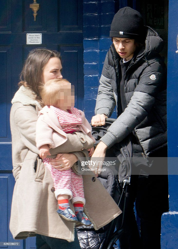 Keira Knightley and James Righton sighting, 26th April 2016 Getty