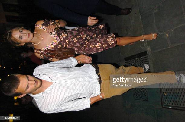 Keira Knightley and Jamie Dornan during 'As You Like It' West End Opening Night Gala Departures at Wyndham's Theatre in London Great Britain
