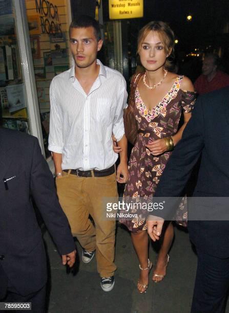 Keira Knightley and Jamie Dornan