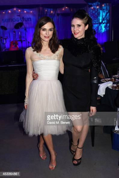 Keira Knightley and Kate Nash attends the SeriousFun London Gala 2013 benefiting a growing community of camps and programs serving children with...