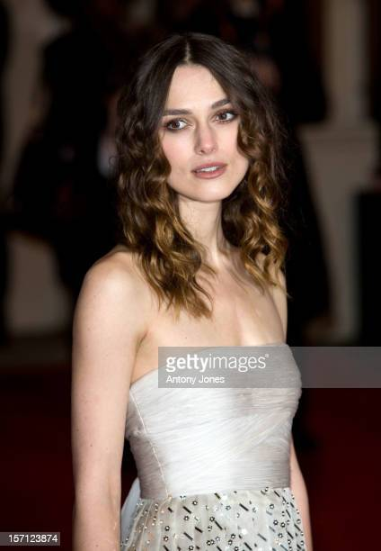 Keira Knightley Arrives For The 2008 Orange British Academy Film Awards At The Royal Opera House In Covent Garden Central London