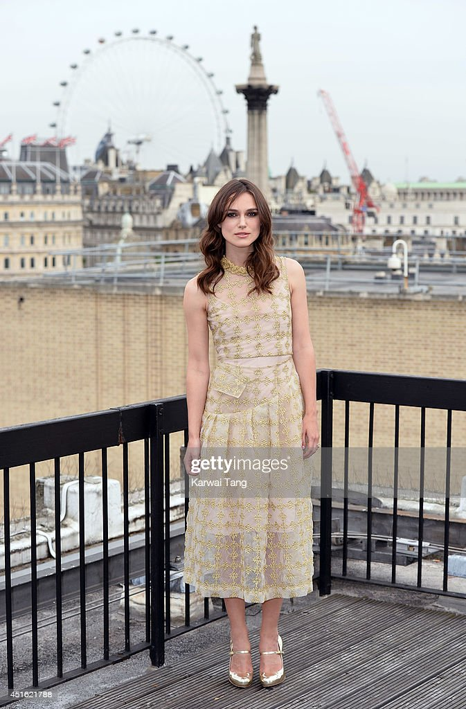 <a gi-track='captionPersonalityLinkClicked' href=/galleries/search?phrase=Keira+Knightley&family=editorial&specificpeople=202053 ng-click='$event.stopPropagation()'>Keira Knightley</a> attends a photocall for 'Begin Again' at Picturehouse Cinemas Ltd on July 2, 2014 in London, England.