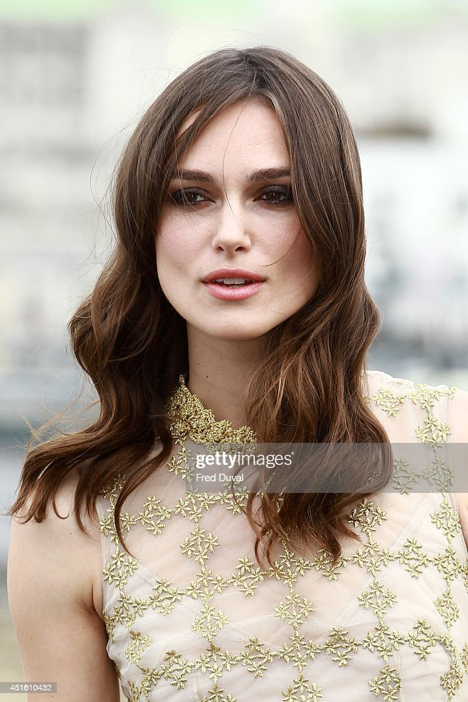 <a gi-track='captionPersonalityLinkClicked' href=/galleries/search?phrase=Keira+Knightley&family=editorial&specificpeople=202053 ng-click='$event.stopPropagation()'>Keira Knightley</a> attends a photocall for 'Begin Again' on July 2, 2014 in London, England.
