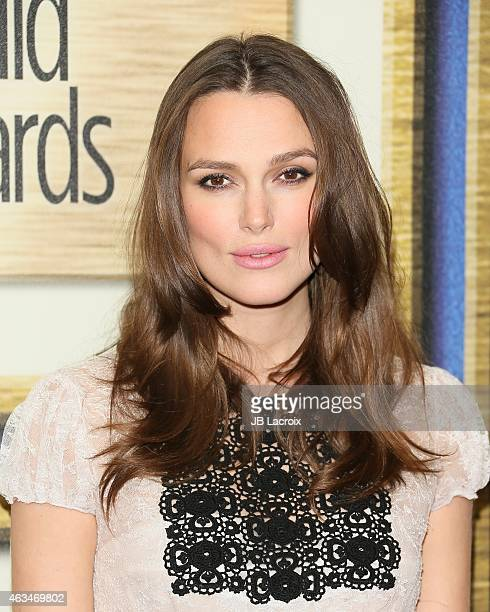 Keira Knightley attends the 2015 Writers Guild Awards LA Ceremony at the Hyatt Regency Century Plaza on February 14 2015 in Century City California