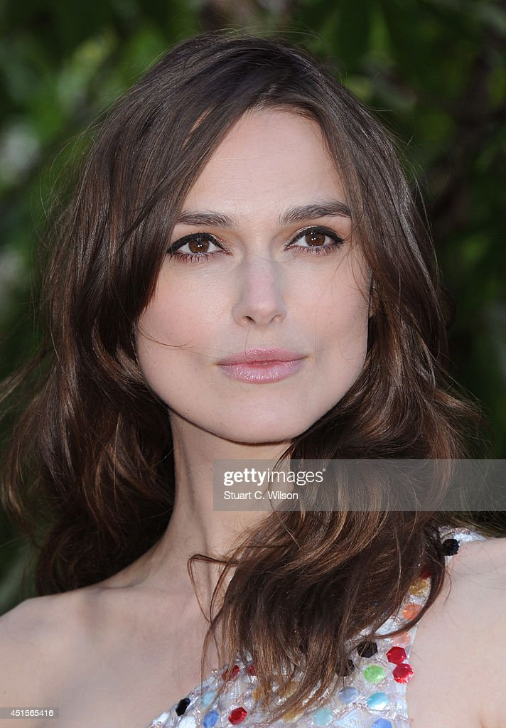 Keira Knightley attends the annual Serpentine Galley Summer Party at The Serpentine Gallery on July 1, 2014 in London, England.