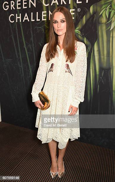 Keira Knightley attends the Green Carpet Challenge 2016 BAFTA Night to Remember on September 18 2016 in London England