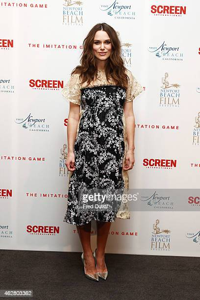 Keira Knightley attends the preBAFTA private reception at ME Hotel on February 5 2015 in London England