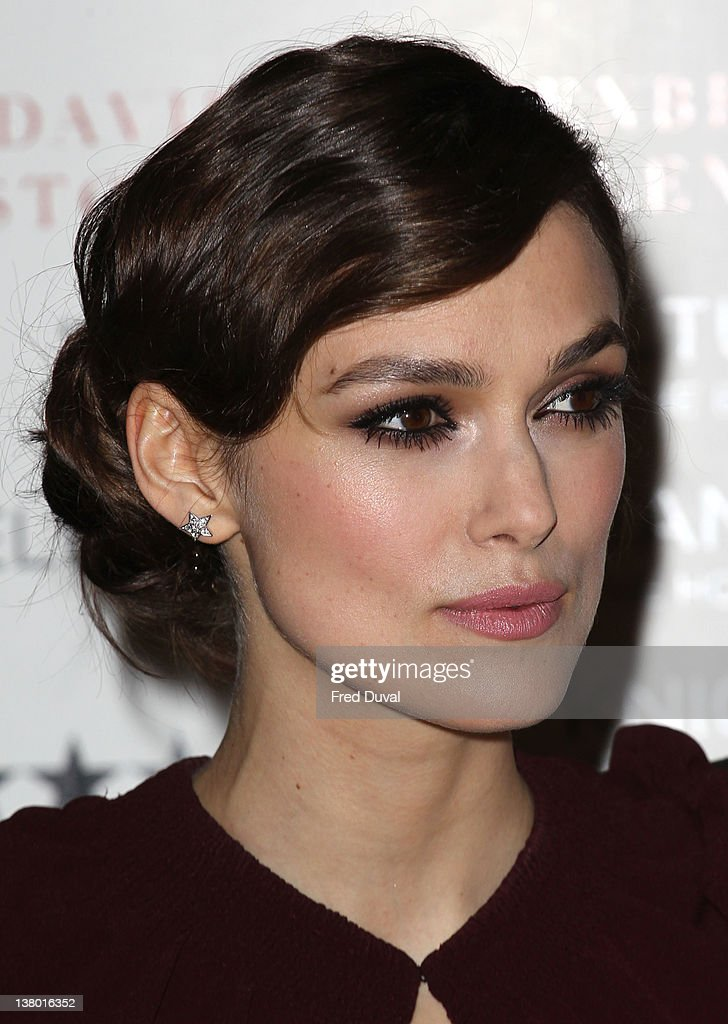 Keira Knightley attends the screening of 'A Dangerous Method' at the Mayfair Hotel at The Mayfair Hotel on January 31 2012 in London England
