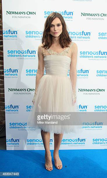 Keira Knightley attends the SeriousFun London Gala 2013 at The Roundhouse on December 3 2013 in London EnglandThe Serious Fun Children's Network is a...