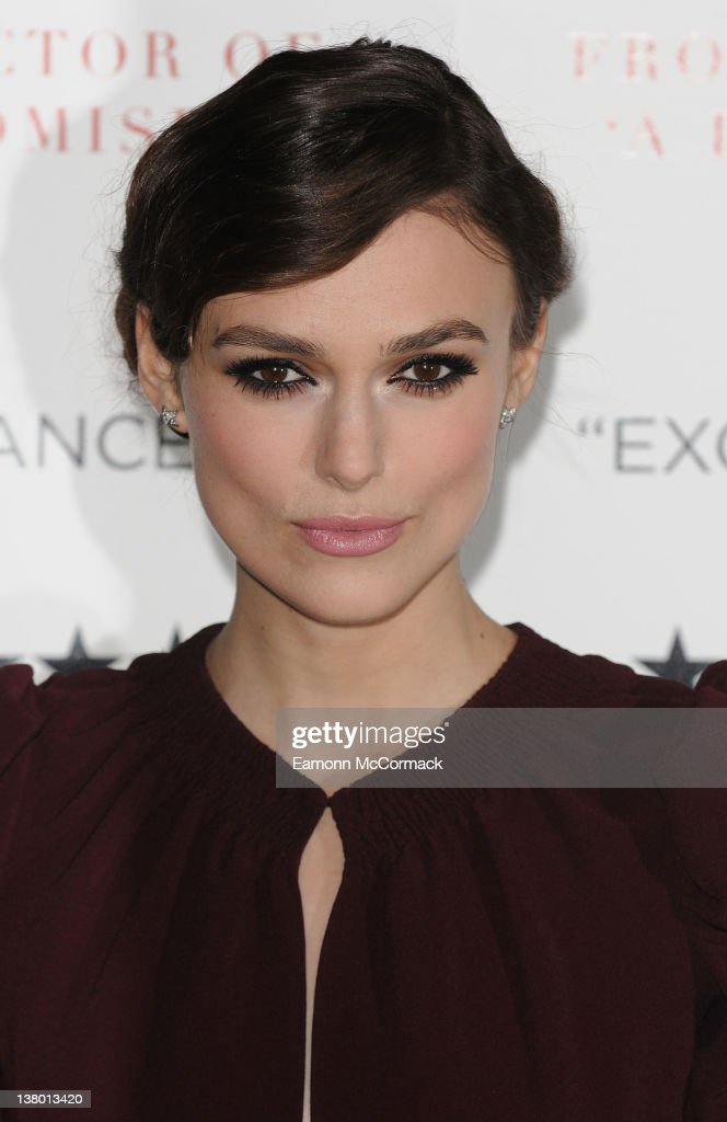 <a gi-track='captionPersonalityLinkClicked' href=/galleries/search?phrase=Keira+Knightley&family=editorial&specificpeople=202053 ng-click='$event.stopPropagation()'>Keira Knightley</a> attends the UK gala premiere of 'A Dangerous Method' at The Mayfair Hotel on January 31, 2012 in London, England.