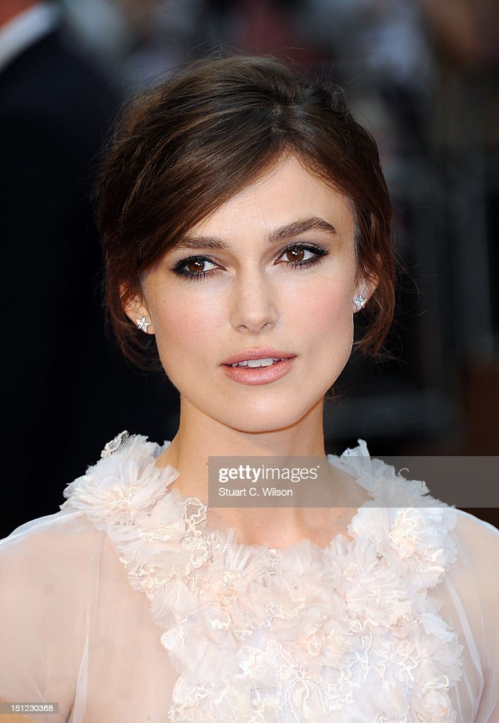 Keira Knightley attends the UK Premiere of Anna Karenina on September 4, 2012 in London, United Kingdom.