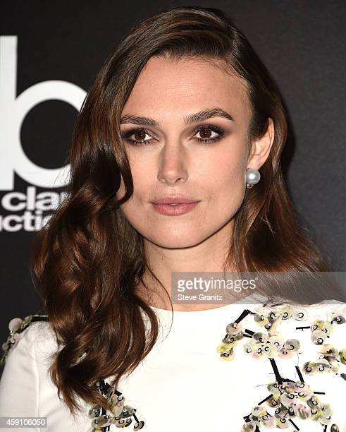 Keira Knightley poses at the 18th Annual Hollywood Film Awards at the Hollywood Palladium on November 14 2014 in Hollywood California