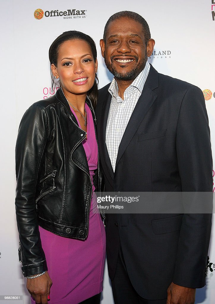 Keisha and Forest Whitaker arrive at the First Annual Party With A Purpose Benefit at Smashbox West Hollywood on May 3, 2010 in West Hollywood, California.