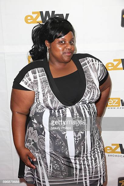 Keisha Bell arrives at eZWay August Issue Celebration on August 27 2016 in Mission Viejo California