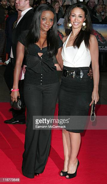 Keisha Buchanan and Amelle Berrabah from Sugababes