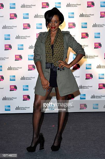 Keisha Buchanan attends the screening of the competition winning film 'My Live Story' organised by American Express and Channel 4 at Abbey Road...