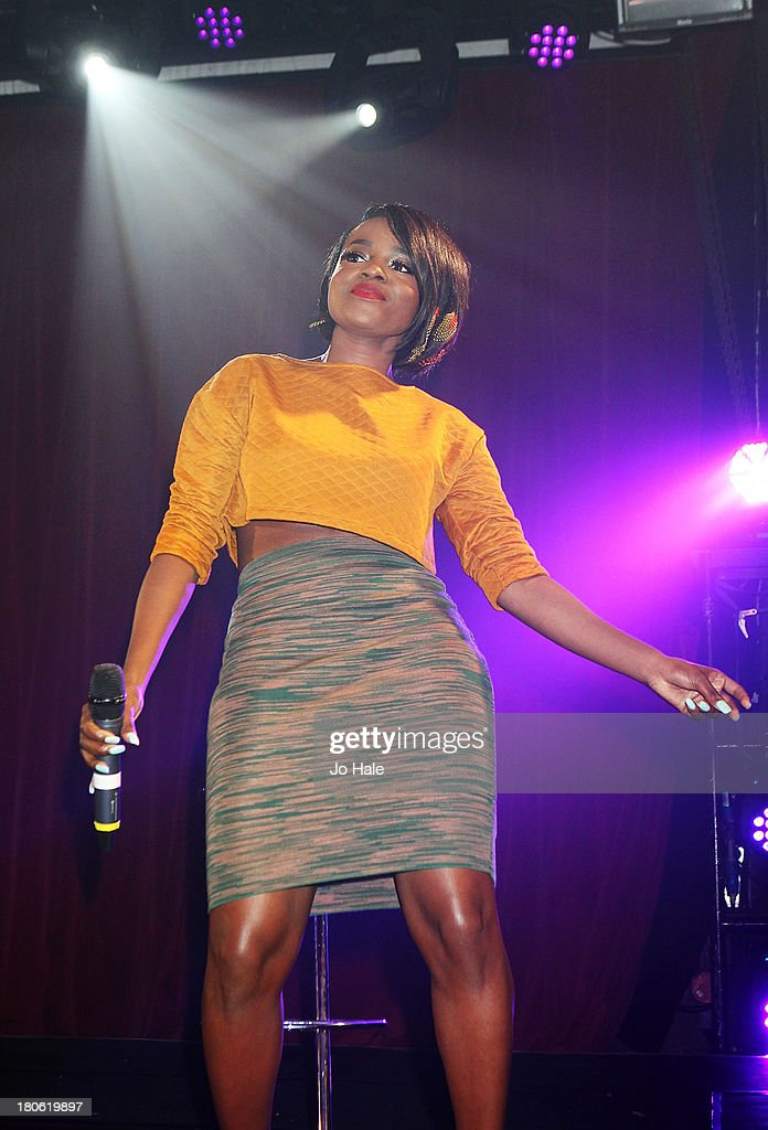 <a gi-track='captionPersonalityLinkClicked' href=/galleries/search?phrase=Keisha+Buchanan&family=editorial&specificpeople=204610 ng-click='$event.stopPropagation()'>Keisha Buchanan</a> performs on stage at G-A-Y on September 14, 2013 in London, England.