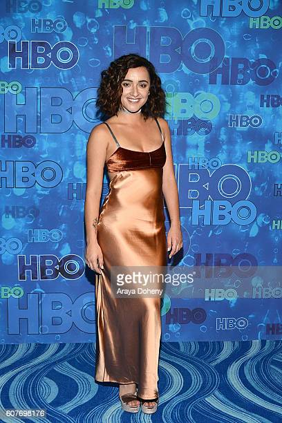 Keisha CastleHughes attends HBO's Post Emmy Awards Reception at The Plaza at the Pacific Design Center on September 18 2016 in Los Angeles California