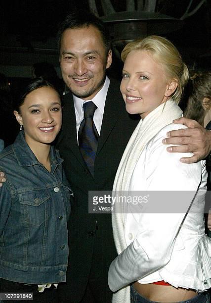 Keisha CastleHughes Ken Watanabe and Charlize Theron