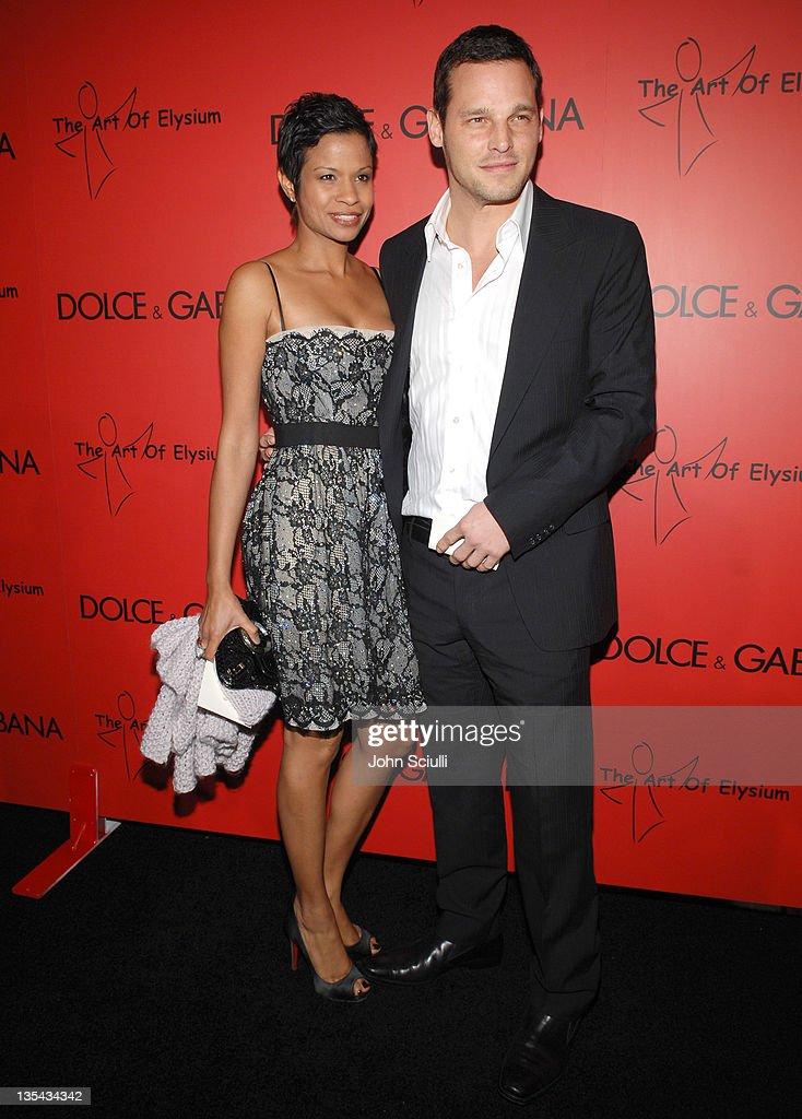 Keisha Chambers and Justin Chambers wearing Dolce Gabbana