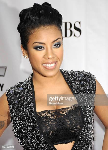 Keisha Cole arrives at Conde Nast Media Group's Fifth Annual Fashion Rocks at Radio City Music Hall on September 5 2008 in New York City