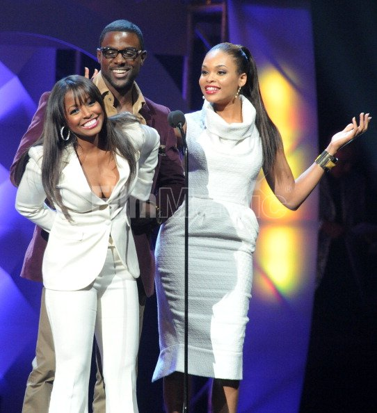 Keisha Knight Pulliam Lance Gross and Demetria Kennedy ...