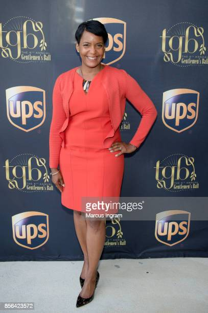 Keisha Lance Bottoms attends The Royal Brunch at Center For Civil Human Rights on October 1 2017 in Atlanta Georgia
