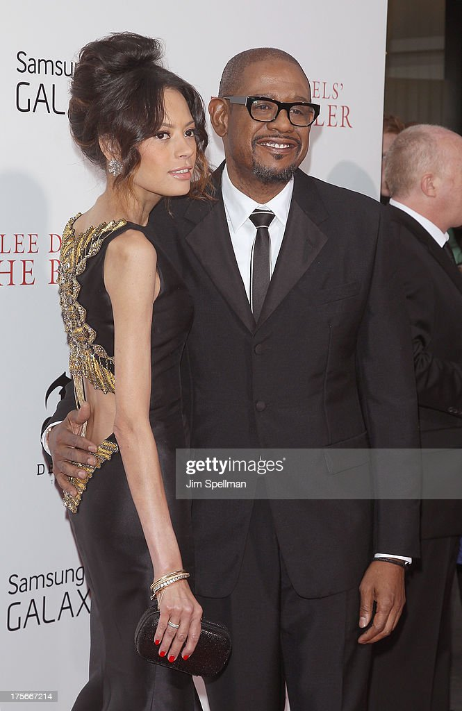 Keisha Nash Whitaker and actor Forest Whitaker attend Lee Daniels' 'The Butler' New York Premiere at Ziegfeld Theater on August 5, 2013 in New York City.