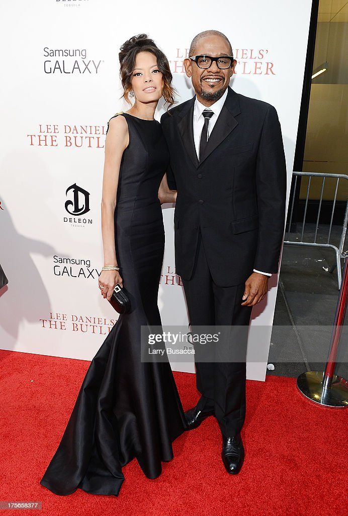 Keisha Nash Whitaker and <a gi-track='captionPersonalityLinkClicked' href=/galleries/search?phrase=Forest+Whitaker&family=editorial&specificpeople=226590 ng-click='$event.stopPropagation()'>Forest Whitaker</a> attend Lee Daniels' 'The Butler' New York Premiere, hosted by TWC, Samsung Galaxy and DeLeon Tequila on August 5, 2013 in New York City.