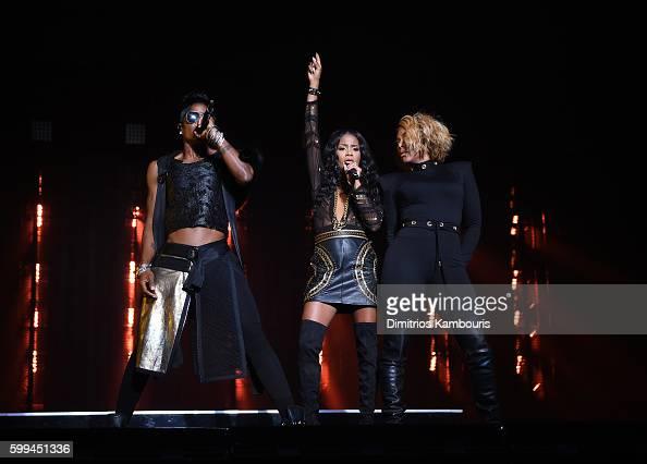 Keisha Spivey Epps Kima Raynor Dyson and Pamela Long of Total perform ...