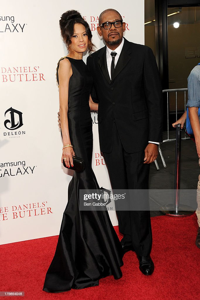 Keisha Whitaker (L) and actor Forest Whitaker attend Lee Daniels' 'The Butler' New York Premiere at Ziegfeld Theater on August 5, 2013 in New York City.